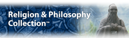 Image of Religion & Philosophy Collection logo.