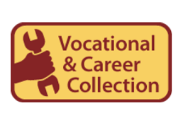 Image of Vocational and Career Collection logo, displaying a hand gripping a wrench.