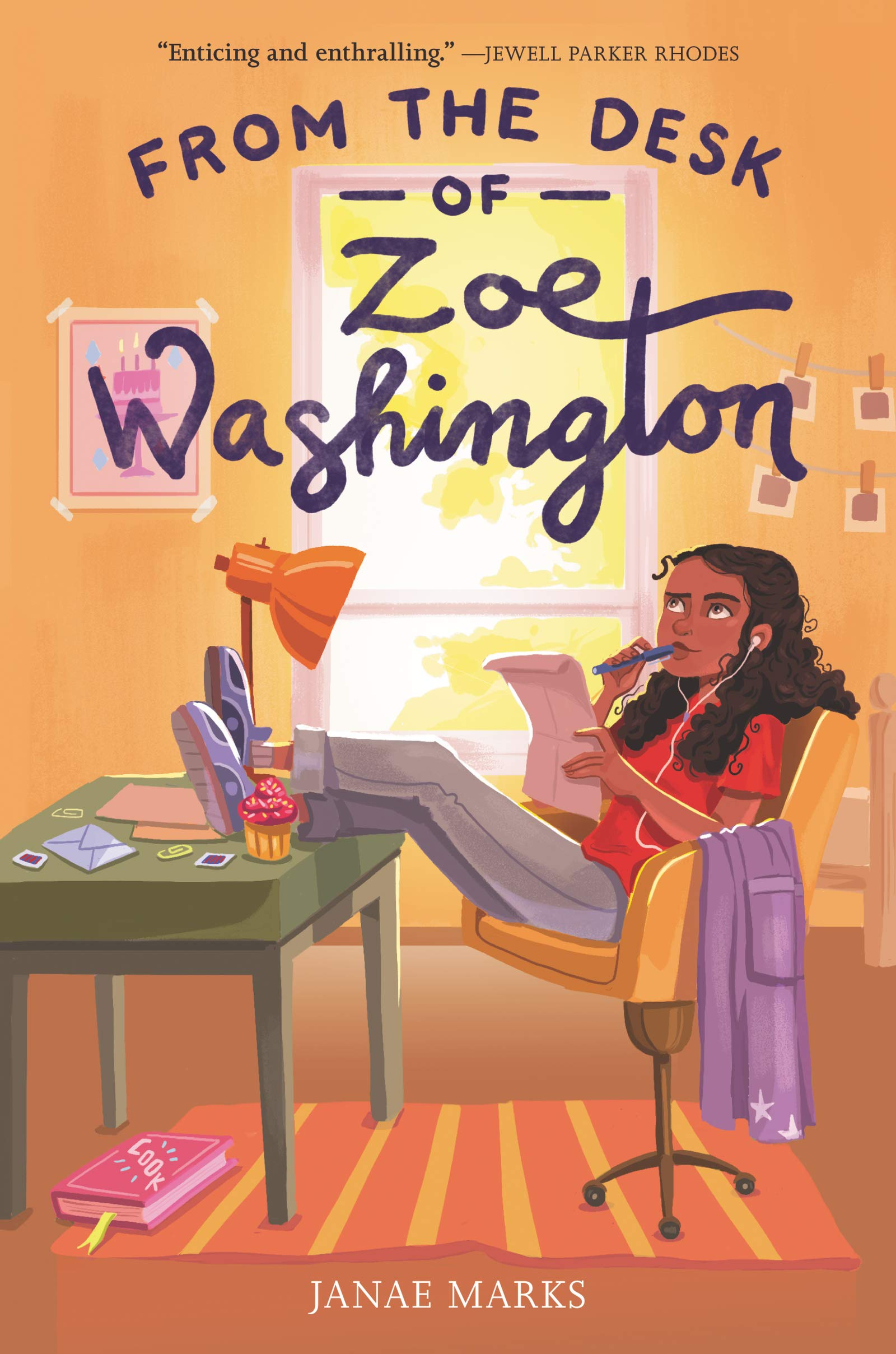 From the Desk of Zoe Washington book cover.